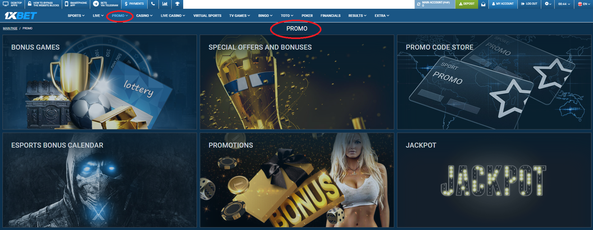 How to specify promo code for registration in 1xBet